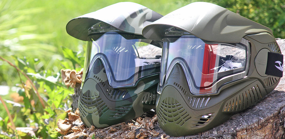 Clean Paintball Goggles Work Best!