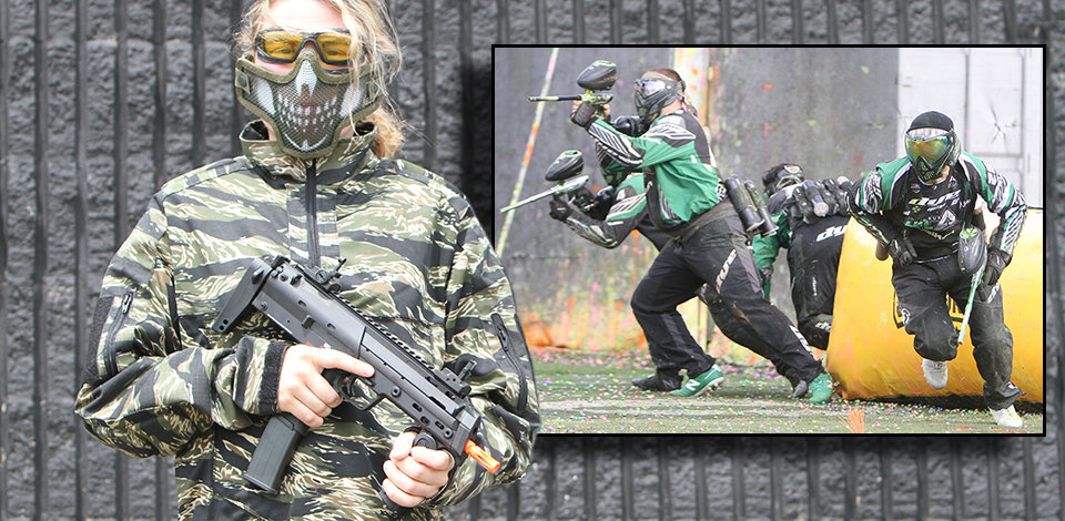 Differences between airsoft and paintball