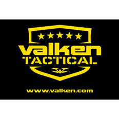 V Tactical Black Banner with Yellow Logo