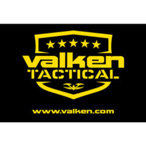 View larger image of V Tactical Black Banner with Yellow Logo