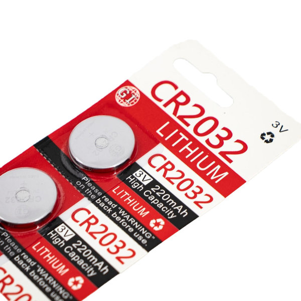 View larger image of Lithium 3V CR2032 Coin Cell Battery - 5 Pack