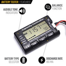 Valken Battery Tester and Power Analyzer