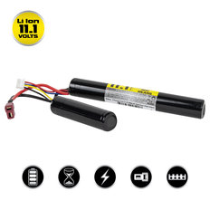Valken Li-Ion 11.1V 2500mAh Split Airsoft Battery (Dean)