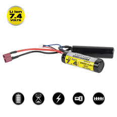 Valken Li-Ion 7.4V 2500mAh Split Airsoft Battery (Dean)