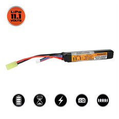 Valken LiPo 11.1v 1200mAh 30C/50C Stick Airsoft Battery (Small Tamiya)