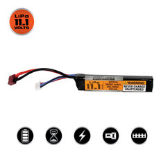 Valken LiPo 11.1v 1200mAh 30C/50C Stick Airsoft Battery (Dean)