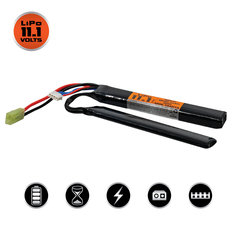 Valken LiPo 11.1V 1200mAh 30C Split Airsoft Battery (Small Tamiya)