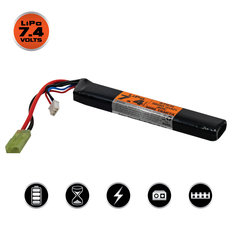 Valken LiPo 7.4v 1200mAh 30C Stick Airsoft Battery (Small Tamiya)