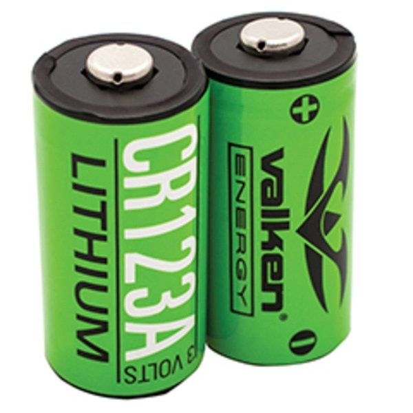 View larger image of Valken Lithium 3V CR123A Battery - 2 Pack