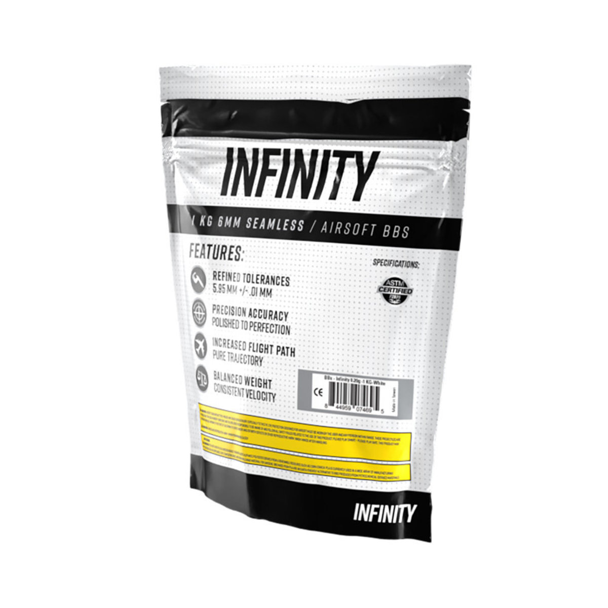 View larger image of Infinity 0.20g 5,000ct Biodegradable Airsoft BBs (1kg)