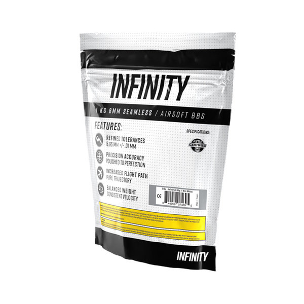 View larger image of Infinity 0.25g 4,000ct Biodegradable Airsoft BBs (1kg)