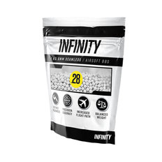 Infinity 0.28g 3,500ct Airsoft BBs (1kg)