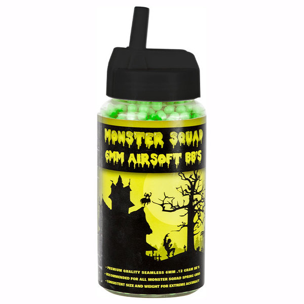 View larger image of Monster Squad 0.12g 2000ct Airsoft BBs