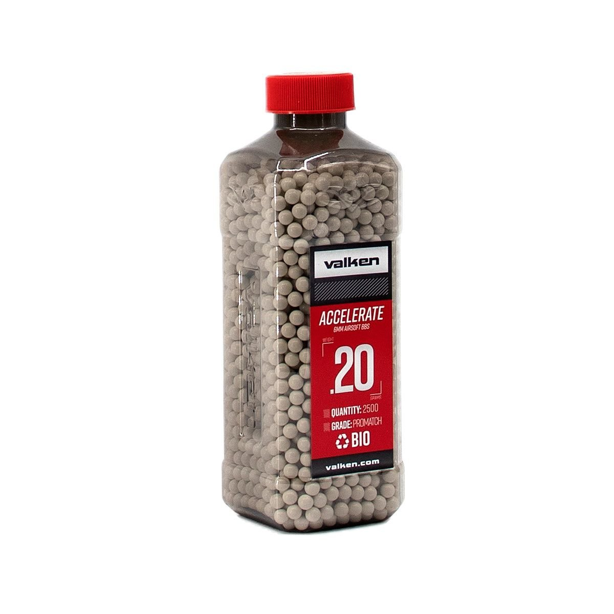 View larger image of Valken Accelerate ProMatch 0.20g 2,500ct Biodegradable Airsoft BBs