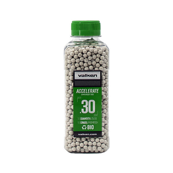 View larger image of Valken Accelerate ProMatch 0.30g 2,500ct Biodegradable Airsoft BBs