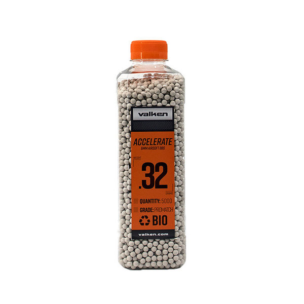 View larger image of Valken Accelerate ProMatch 0.32g 5,000ct Biodegradable Airsoft BBs