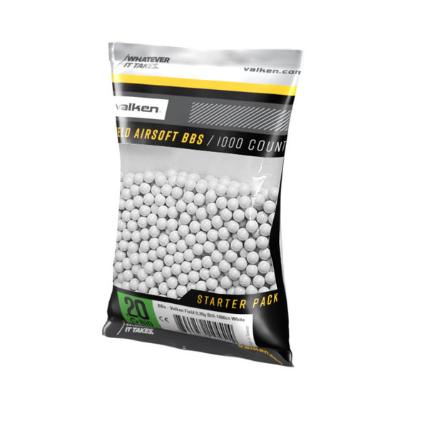 View larger image of Valken Field 0.20g 1,000ct Biodegradable Airsoft BBs