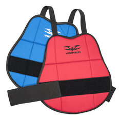 Reversible Blue/Red Valken Gotcha Paintball Chest Protector