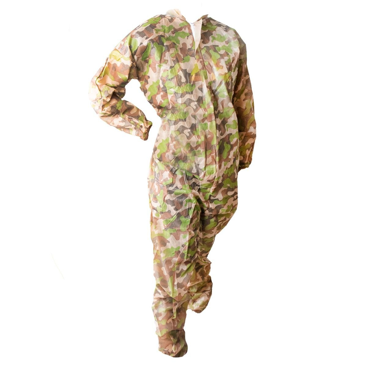 View larger image of  Valken Disposable Camo Zip Up Coverall