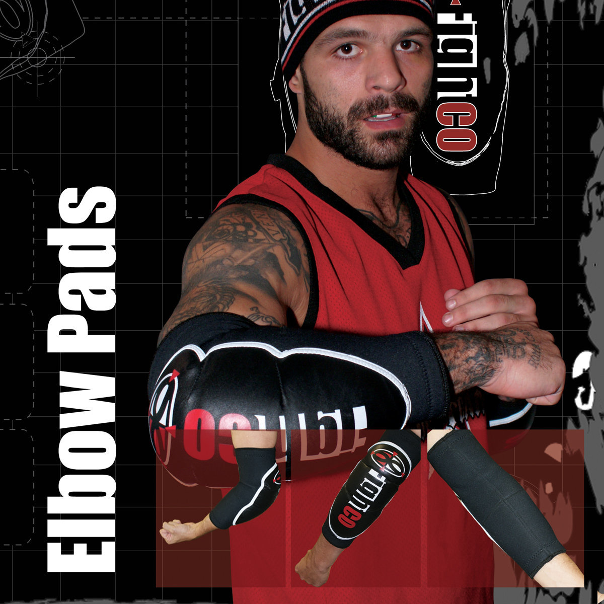 View larger image of FIGHTCO Training Elbow Pads - Small