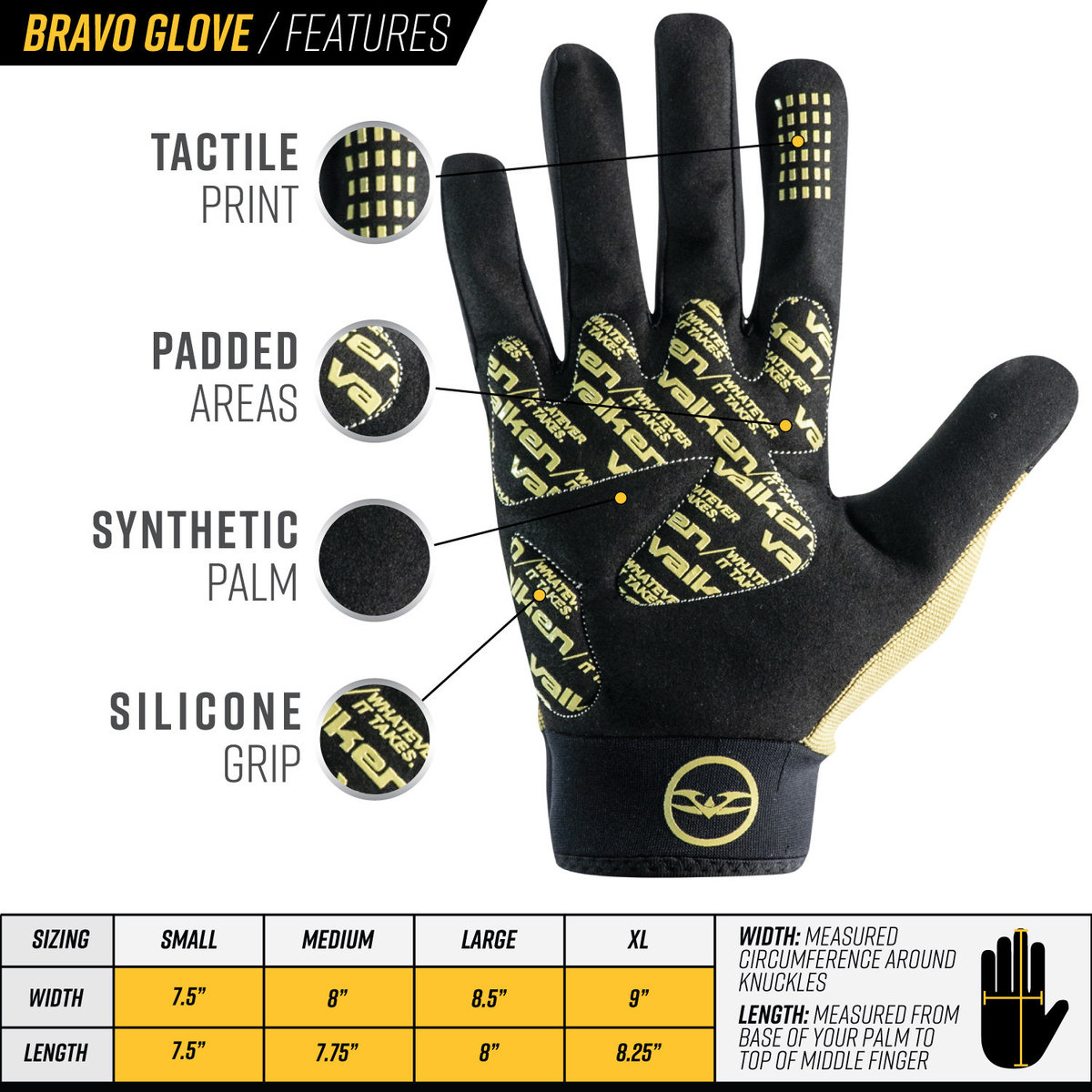 View larger image of Valken Bravo Gloves