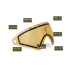 Virtue Bunkerkings CMD/VIO Goggle Lens