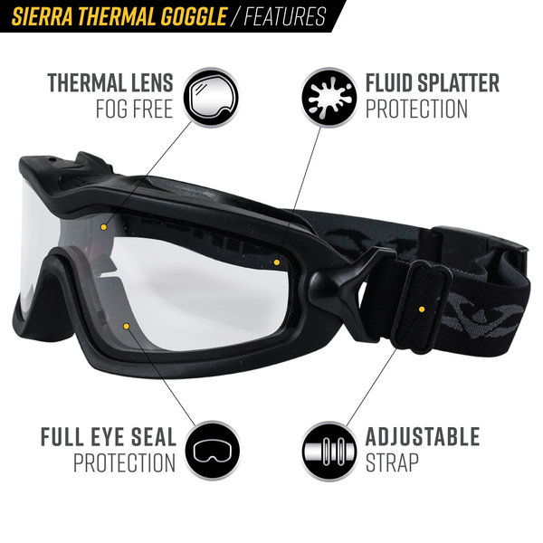 View larger image of Valken Sierra Thermal Airsoft Goggles