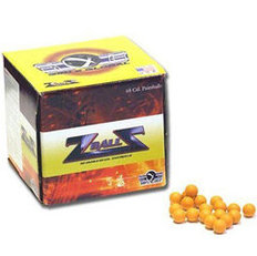 GXG Reusable .68 Caliber Yellow Rubber ZBalls - 500 Count
