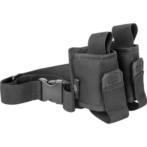 View larger image of GOTCHA Twin Pouch Harness with Web Belt - Black