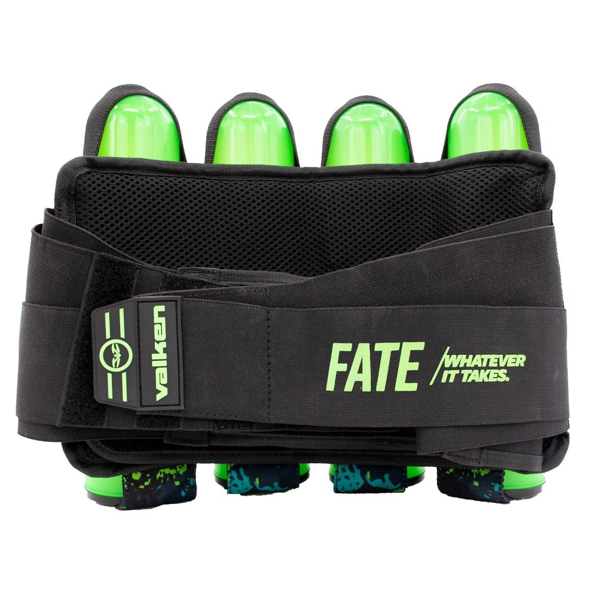 View larger image of Valken Fate GFX 4+3 Paintball Harness - Green Abstract