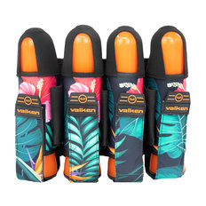 Valken Fate GFX 4+3 Paintball Harness - Hawaiian Orange