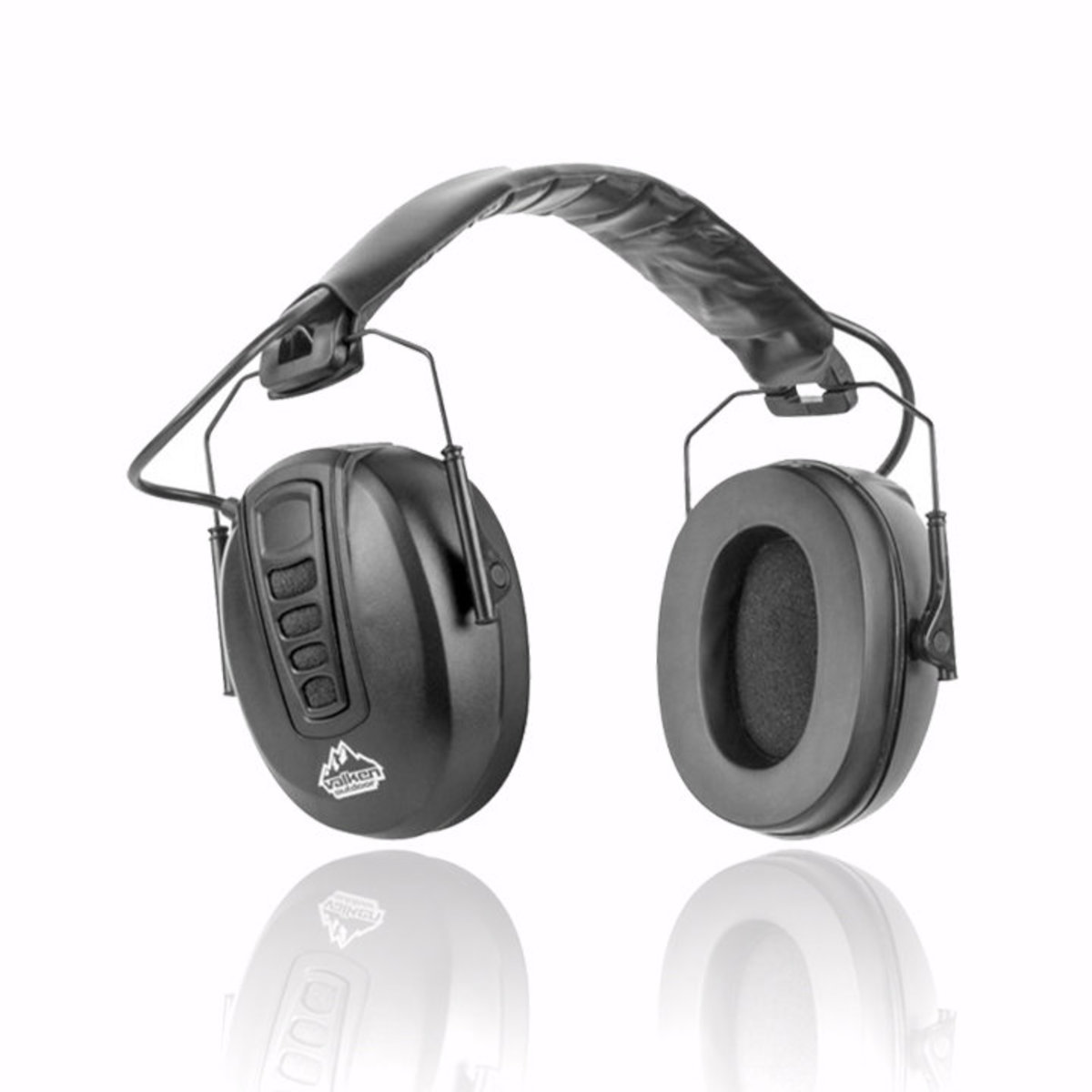View larger image of Valken Ear Shieldz Full Cover Electronic Stereo Earmuffs