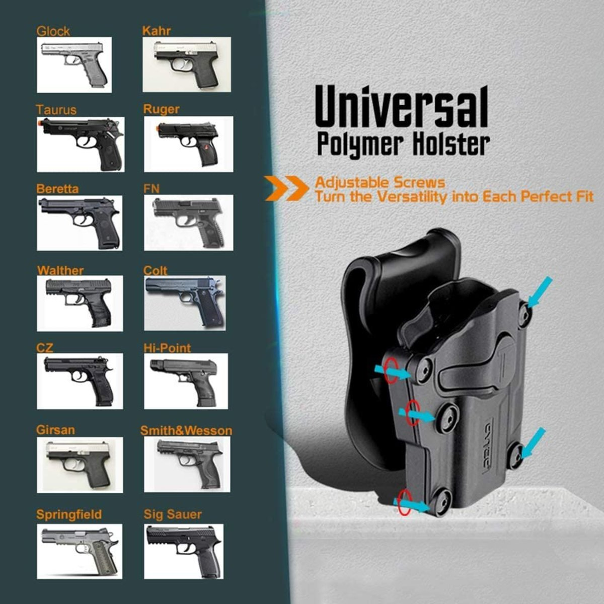View larger image of Cytac Low Ride Universal Holster Rig
