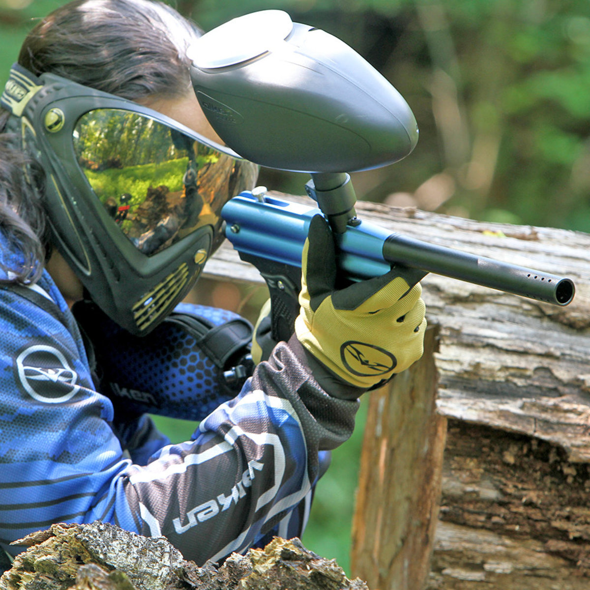 View larger image of Valken V-Lite Fast Feed 200 Round Paintball Loader