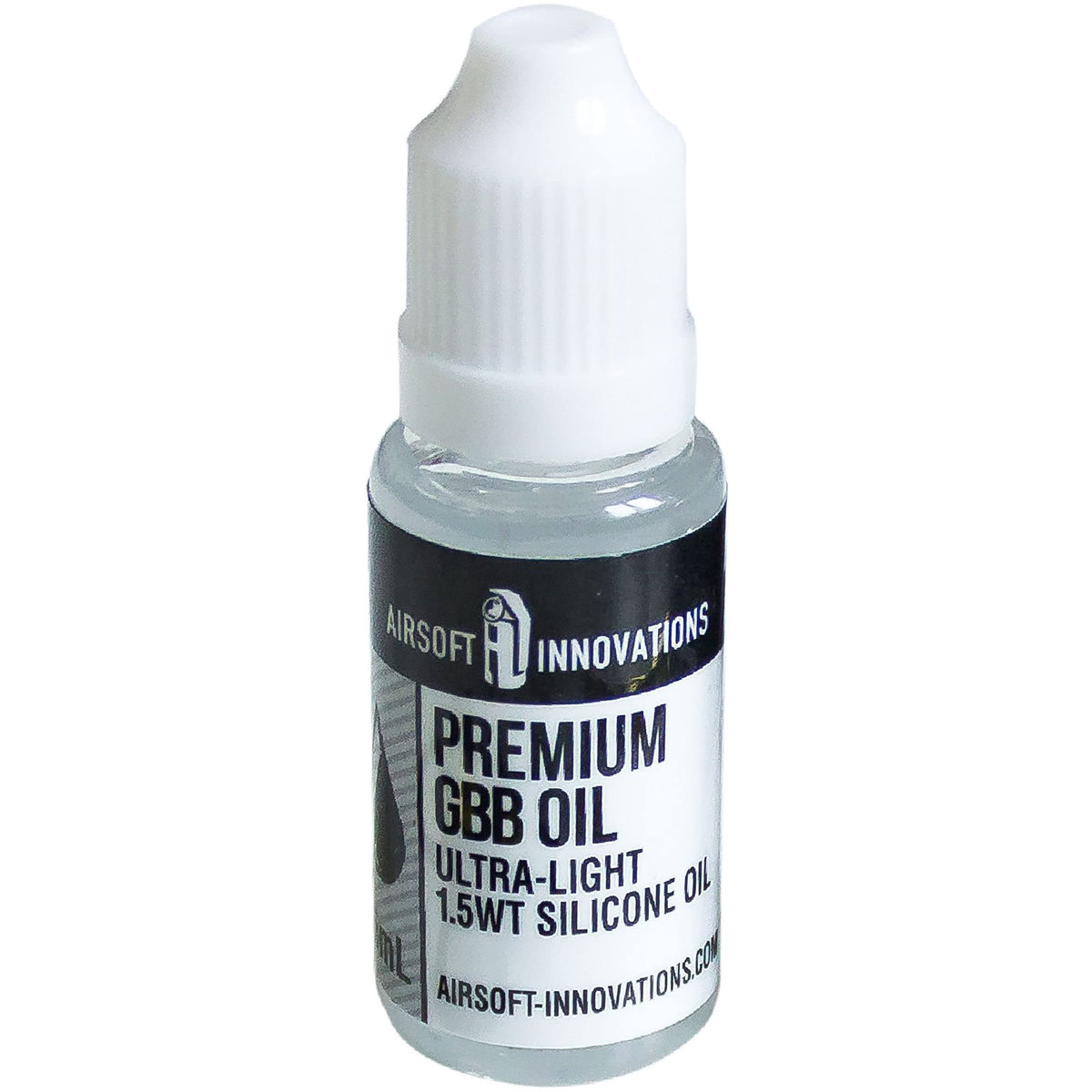 View larger image of Airsoft Innovations Premium GBB Ultra-Light Silicone Oil - 15ml