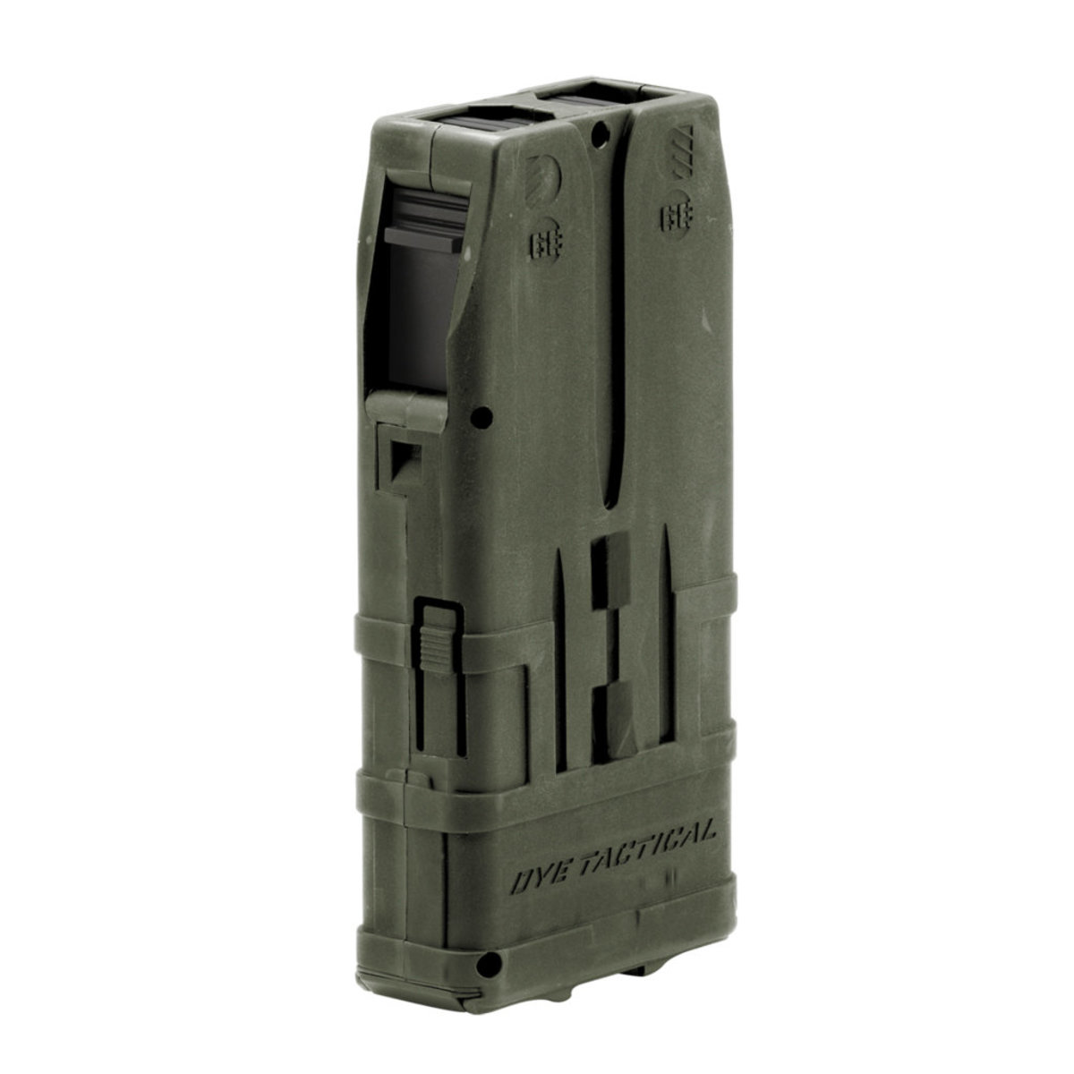 View larger image of Dye DAM 10 Round Paintball Gun Magazine - 2 Pack