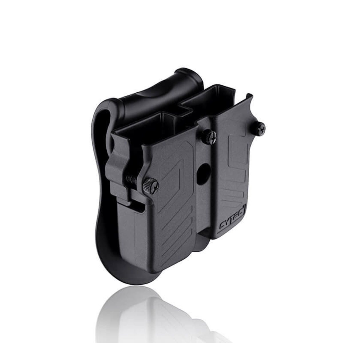 View larger image of Cytac Universal Double Magazine Pouch - Fits Single / Double Stack Magazines