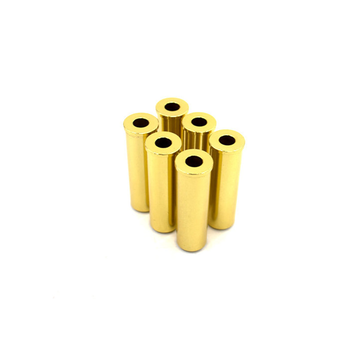 View larger image of Valken Infinity Spare Brass Revolver Shells - 6 Pack (Green Gas)