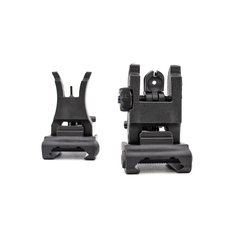 Valken M17 Front and Rear Flip-Up Iron Sights