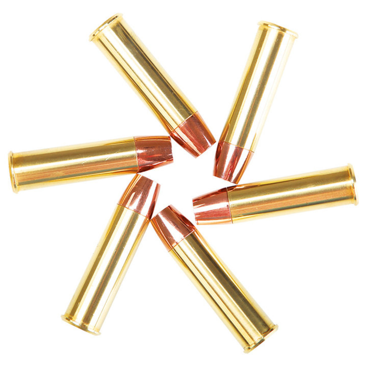 View larger image of Valken Spare Brass Revolver Shells - 6 Pack (Copper)