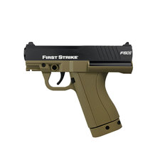 First Strike FSC Compact Paintball Pistol with 2 Mags - Tan