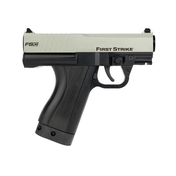 View larger image of First Strike Compact Paintball Pistol with 2 Mags - Silver