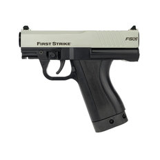 First Strike FSC Compact Paintball Pistol with 2 Mags - Silver