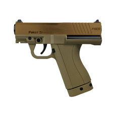 First Strike FSC Compact Paintball Pistol with 2 Mags - Brown