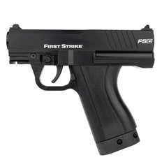 First Strike FSC Compact Paintball Pistol with 2 Mags - Black