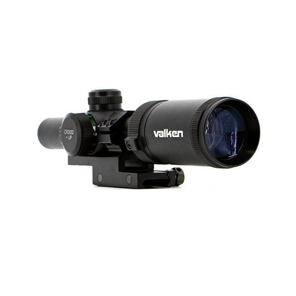 View larger image of Valken 1-4x20 Mil-Dot Airsoft Rifle Scope w/ Mount