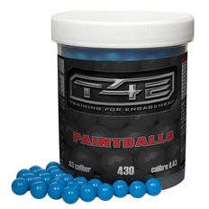 T4E .43 Caliber Paintballs - 430 Count