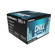 Valken Chill .68 Caliber Winter Formula Paintballs - 2,000ct