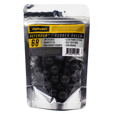 Valken Defender .68 Caliber Hard Rubber Balls - 25ct