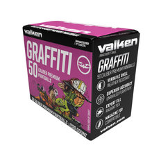 Valken Graffiti .50 Caliber Paintballs -  1250ct